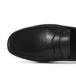 tod's mocassins et slippers Mocassins GomminoGOMMINI - CUIR - NOIR