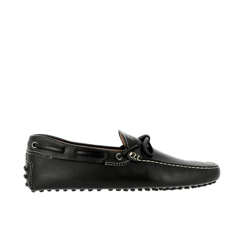 tod's mocassins et slippers Mocassins Gommino à LacetsTODNEU - CUIR SOUPLE - NOIR