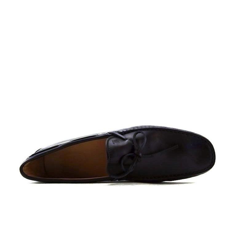 tod's mocassins et slippers Mocassins Gommino à LacetsTODNEU - CUIR - NOIR