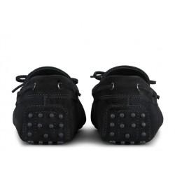 tod's mocassins et slippers Mocassins Gommino à LacetsTODNEU - NUBUCK - NOIR