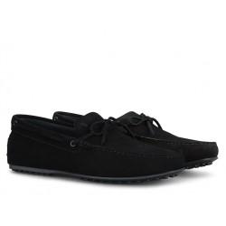 tod's mocassins et slippers Mocassins City GomminoBABYLONE - NUBUCK - NOIR