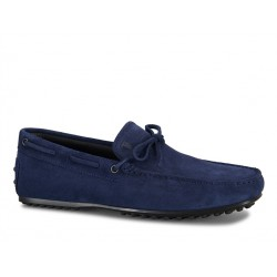tod's mocassins et slippers Mocassins City GomminoBABYLONE - NUBUCK - MARINE