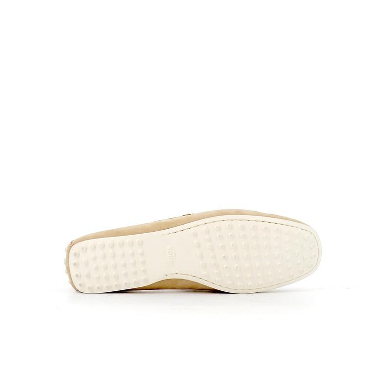 tod's mocassins et slippers Mocassins City GomminoBABYLONE - NUBUCK - SABLE ET SEM