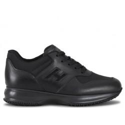 hogan nouveautés sneakers Sneakers InteractiveHH INTERACTIVE - CUIR ET TOILE -