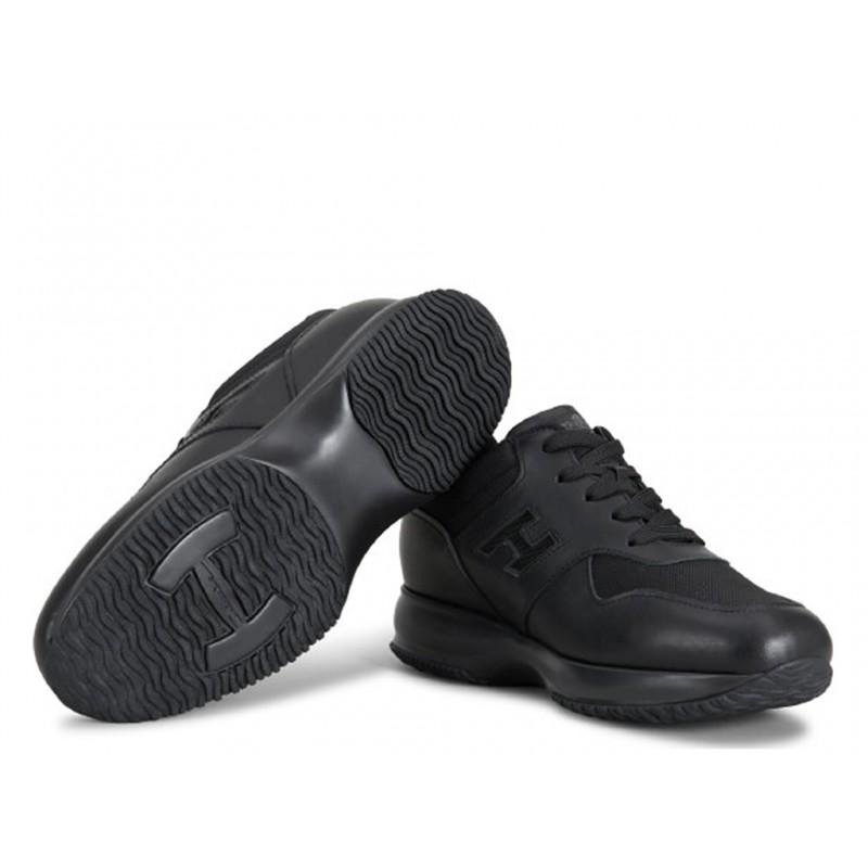 hogan sneakers Sneakers InteractiveHH INTERACTIVE - CUIR ET TOILE -