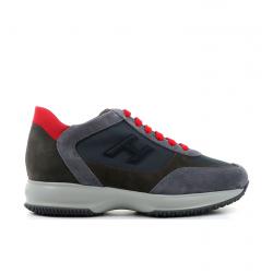 hogan nouveautés sneakers hh interactiveHH INTERACTIVE - NUBUCK ET TOILE