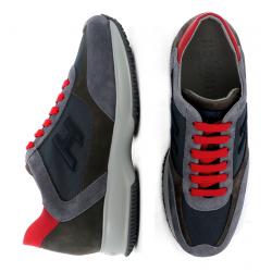 hogan nouveautés sneakers Sneakers InteractiveHH INTERACTIVE - NUBUCK ET TOILE