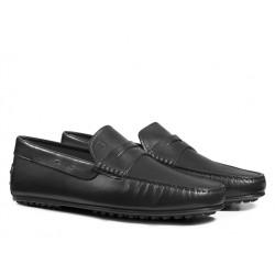 tod's mocassins et slippers Mocassins City GomminoBROKEN - CUIR - NOIR