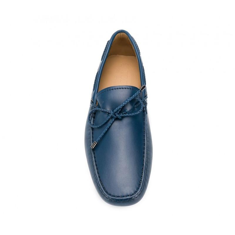 tod's mocassins et slippers Mocassins Gommino à LacetsTODNEU (2) - CUIR - MARINE (2)