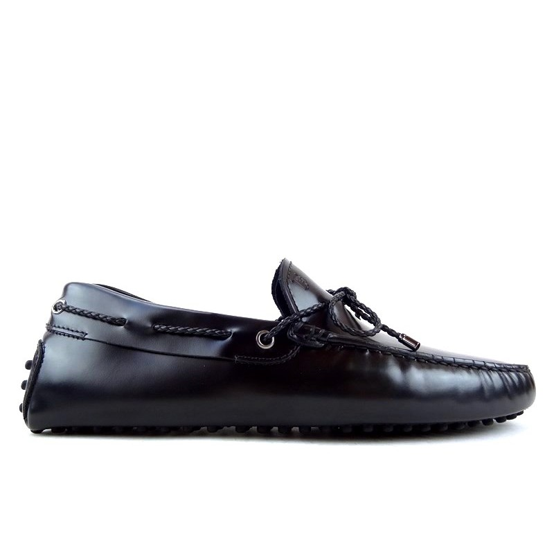 tod's mocassins et slippers Mocassins Gommino à LacetsTODNEU (2) - CUIR - NOIR