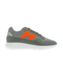 hogan nouveautés sneakers Sneakers Interactive 3HH INTERACTIVE3 - CUIR ET TOILE