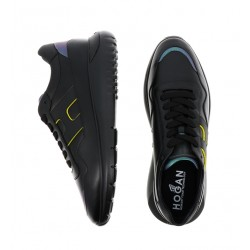 hogan nouveautés sneakers hh interactive3 (1)HH INTERACTIVE3 (1) - CUIR - NOI