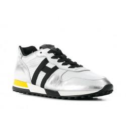 hogan promotions sneakers Sneakers H383 CapsuleHH H383 CAPSULE - CUIR - ACIER
