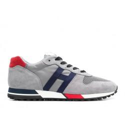 hogan nouveautés sneakers hh h383 (1)HH H383 (1) - NUBUCK ET TOILE -