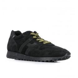 hogan nouveautés sneakers Sneakers H383HH H383 (1) - NUBUCK - NOIR