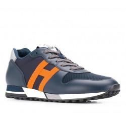 hogan nouveautés sneakers Sneakers H383HH H383 (1) - CUIR ET TOILE - MA