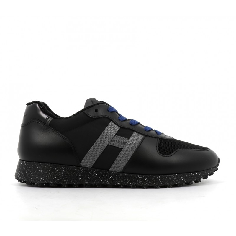 hogan promotions sneakers Sneakers H383HH H383 (2) - CUIR ET TOILE - NO