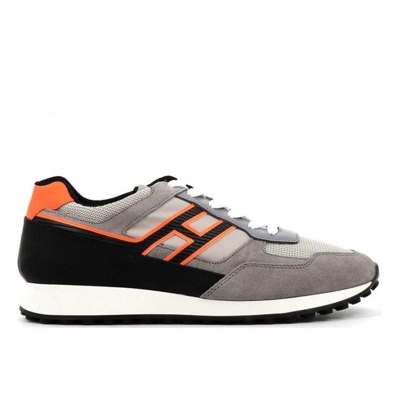 hogan promotions sneakers Sneakers H383HH H383 (2) - CUIR, NUBUCK ET TO