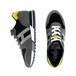 hogan promotions sneakers hh h383 (2)HH H383 (2) - NUBUCK ET TOILE -