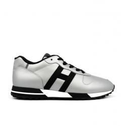 hogan nouveautés sneakers Sneakers H383HH H383 - CUIR ET CUIR GOMMÉ - A