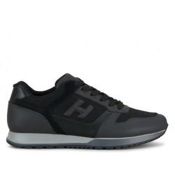 hogan sneakers Sneakers H321HH BASKETS H321 - CUIR ET TOILE