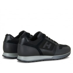 hogan sneakers Sneakers H321HH BASKETS H321 - CUIR ET TOILE