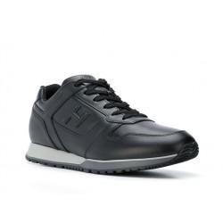 hogan nouveautés sneakers Sneakers H321HH BASKETS H321 - CUIR - NOIR
