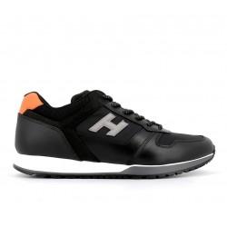hogan nouveautés sneakers Sneakers H321HH BASKETS H321 - CUIR ET TOILE