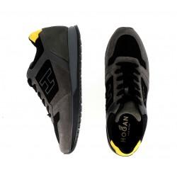 hogan nouveautés sneakers hh baskets h321HH BASKETS H321 - NUBUCK ET TOIL