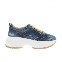 hogan nouveautés sneakers Sneakers Maxi ActiveHF MAXI ACTIVE - JEAN - BLEU