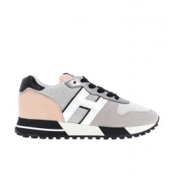 hogan nouveautés sneakers Sneakers H383HF BASKET H383 - CUIR, NUBUCK, T
