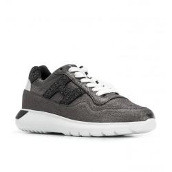 hogan nouveautés sneakers Sneakers Interactive 3HF INTERACTIVE3 (1) - CUIR IRISÉ