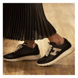 hogan nouveautés sneakers hf interactive3HF INTERACTIVE3 - CUIR ET TOILE
