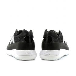 hogan nouveautés sneakers Sneakers Interactive 3HF INTERACTIVE3 - CUIR ET TOILE
