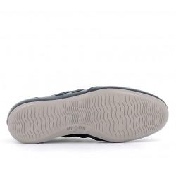hogan nouveautés sneakers Sneakers OlympiaHF OLYMPIA - CUIR - BLEU (2)