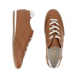 hogan nouveautés sneakers Sneakers OlympiaHF OLYMPIA - CUIR - NATUREL ET O