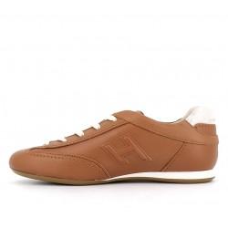 hogan sneakers Sneakers OlympiaHF OLYMPIA - CUIR - NATUREL ET O