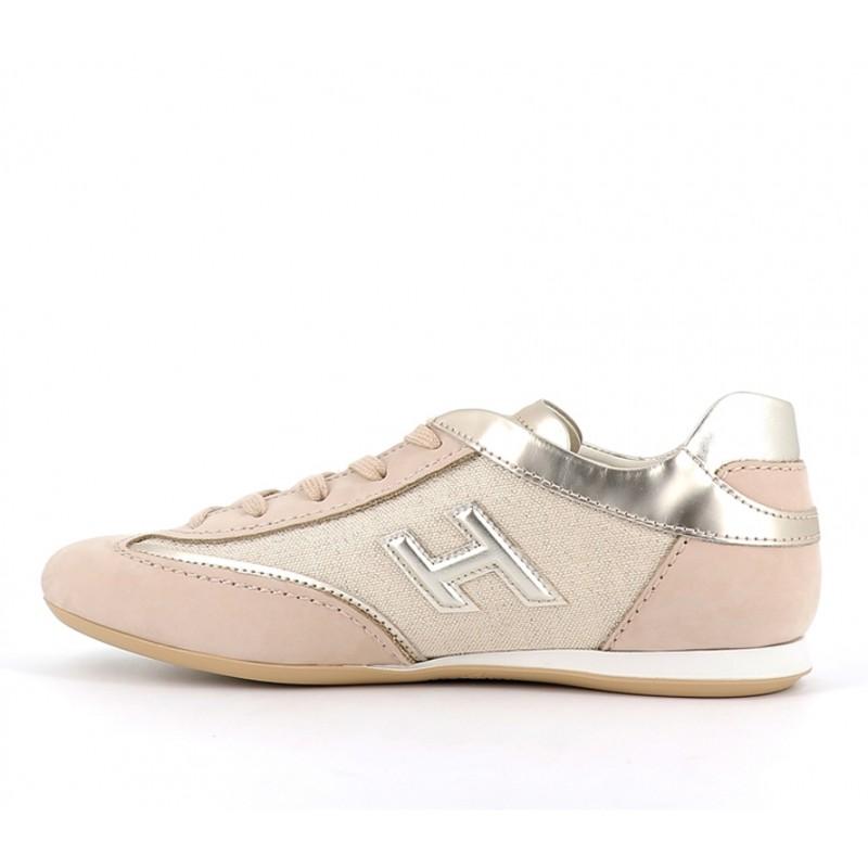 hogan sneakers Sneakers OlympiaHF OLYMPIA - NUBUCK ET TOILE - B