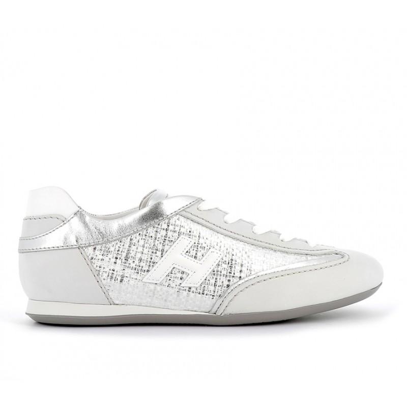 hogan sneakers Sneakers OlympiaHF OLYMPIA - NUBUCK ET TOILE - É