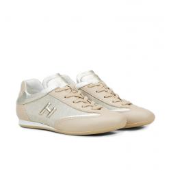 hogan nouveautés sneakers Sneakers OlympiaHF OLYMPIA - CUIR ET TOILE - BEI