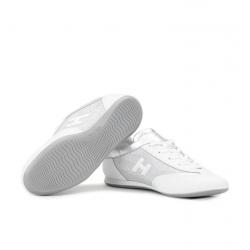 hogan sneakers Sneakers OlympiaHF OLYMPIA - CUIR ET TOILE - BLA