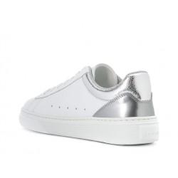 hogan promotions sneakers Sneakers H365HF H365 - CUIR - ARGENT ET BLANC