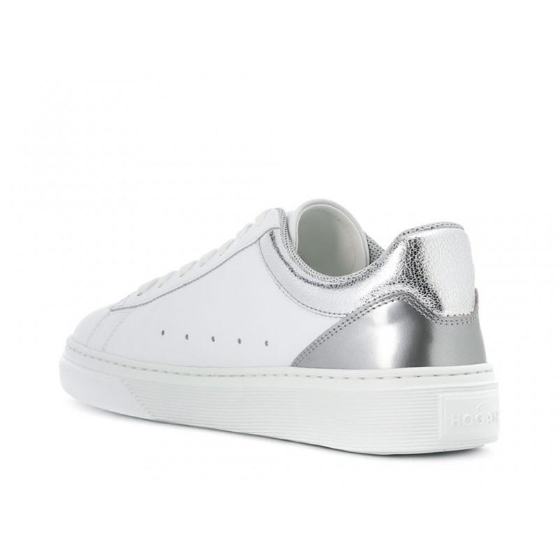 hogan sneakers Sneakers H365HF H365 - CUIR - ARGENT ET BLANC