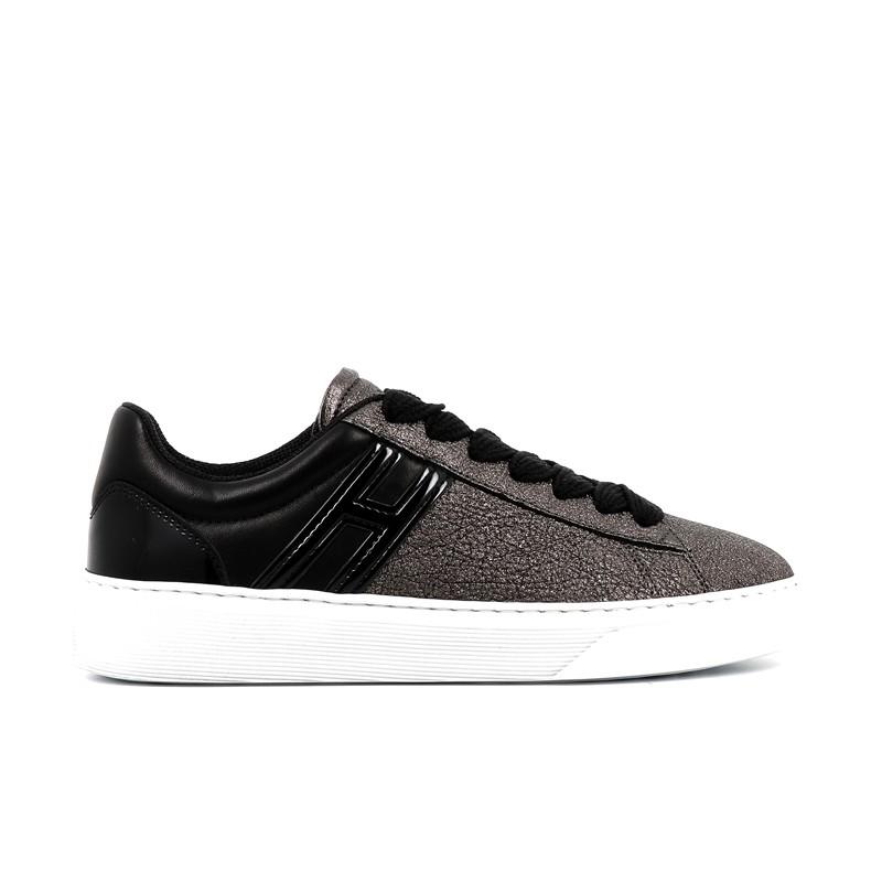 hogan sneakers Sneakers H365HF H365 - CUIR IRISÉ - PLOMB