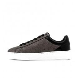 hogan promotions sneakers Sneakers H365HF H365 - CUIR IRISÉ - PLOMB