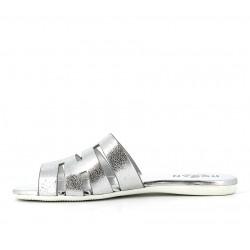 hogan sandales Sandales SlidesVALMA - CUIR - ARGENT