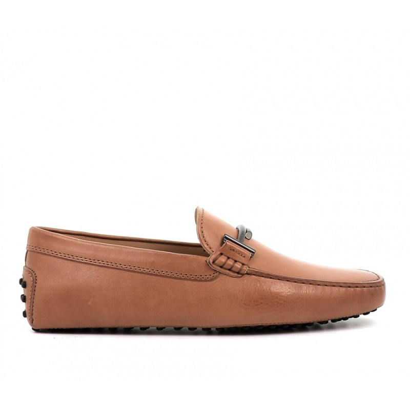 tod's promotions mocassins Mocassins gommino double tGOMME T2 - CUIR - GOLD