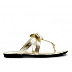tod's promotions sandales SandalesTONGA - CUIR - OR