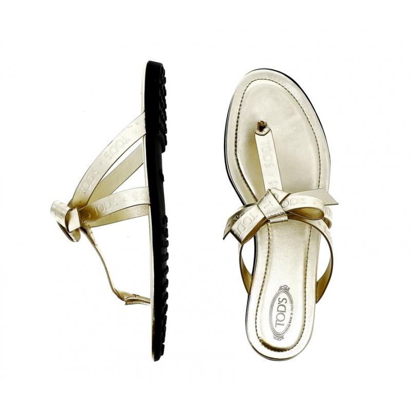tod's sandales SandalesTONGA - CUIR - OR