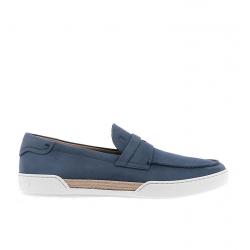 tod's mocassins et slippers MocassinsTODBAS ESPA - NUBUCK - JEAN